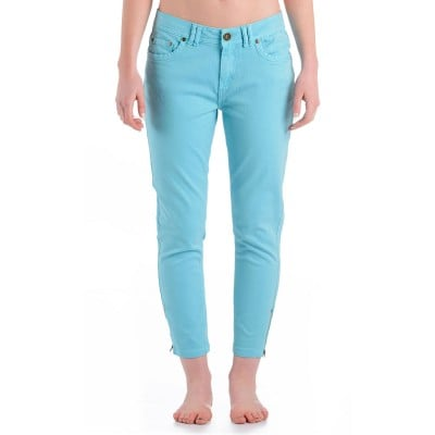 Womens Comet 3/4 Denim Jeans Light Blue