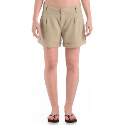 Womens Bedrock Shorts Beige