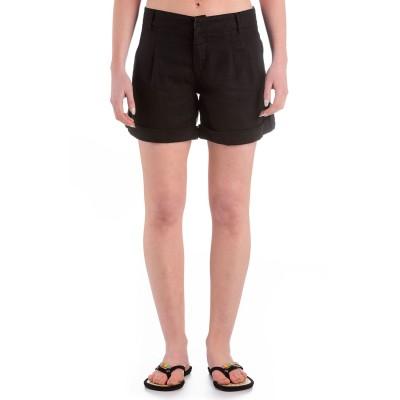Womens Bedrock Shorts Black