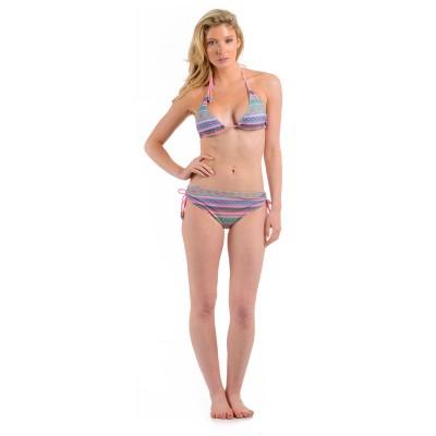 Womens Aztec Bikini Pink