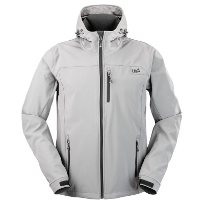 Mens Salween Gargoyle Grey Softshell Jacket