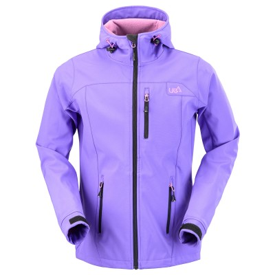 Womens Purple Softshell Jacket