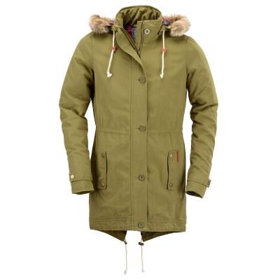 Womens Cooper Olive Green Jacket