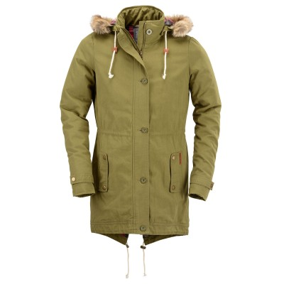 Womens Cooper Olive Green Jacket