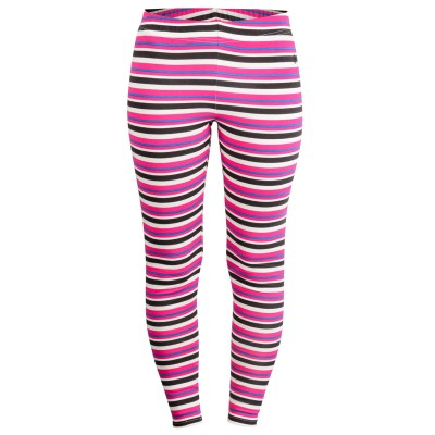 Womens Ruby Raven Striped Leggings