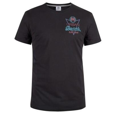Mens Black Neon T-Shirt