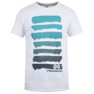 Mens White Paint T-Shirt