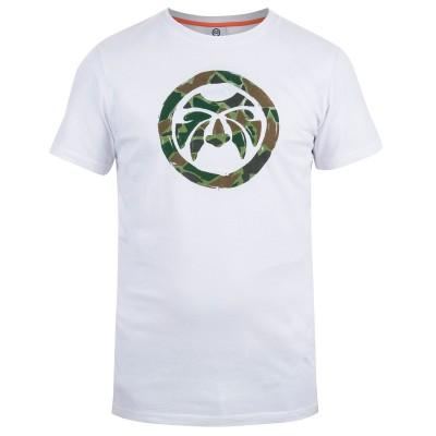 Mens White Face T-Shirt