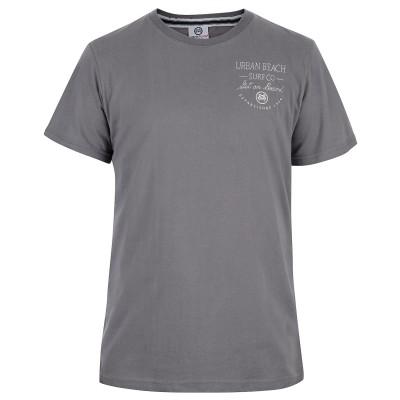 Mens Charcoal Grey Scribble T-Shirt