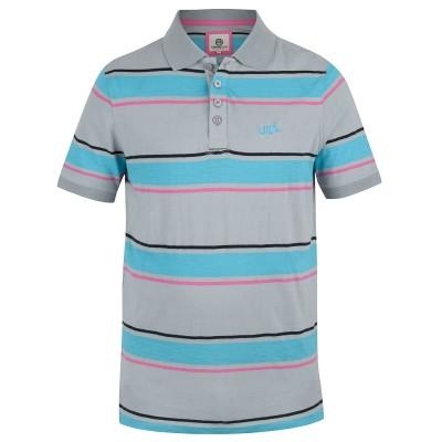 Mens Grey Rico Polo Shirt
