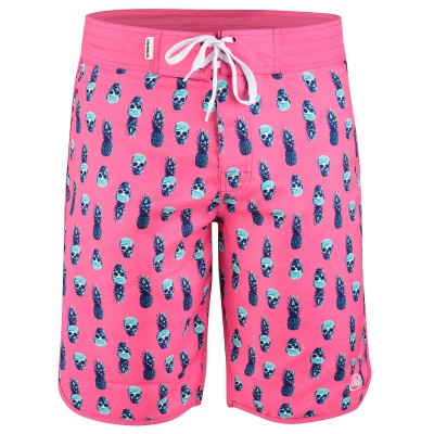 Mens Pink Moloki Board Shorts