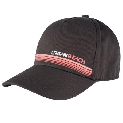 Mens Black Horizon Flex-Fit Cap