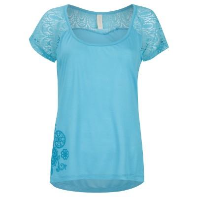 Womens Aqua Island House T-Shirt