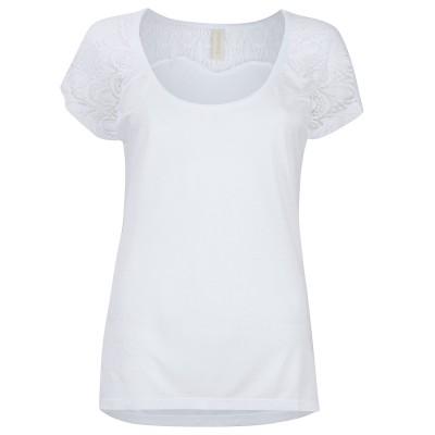 Womens White Island House T-Shirt