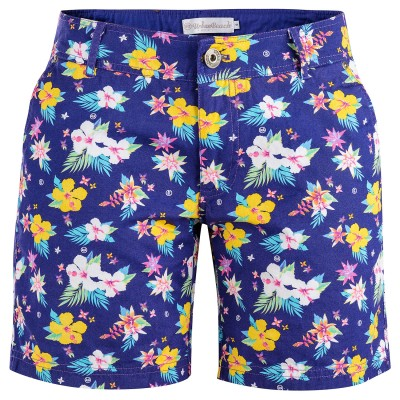Women's Blue Berkeley Shore Chino Shorts