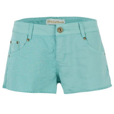 Women's Blue Rockstar Boyfriend Shorts