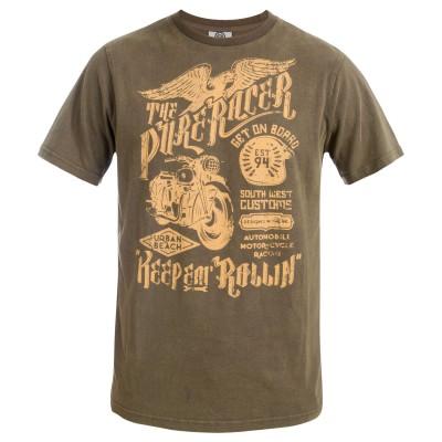 Men's Harmon Crew Neck T-Shirt Grey