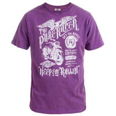 Men's Harmon Crew Neck T-Shirt Purple