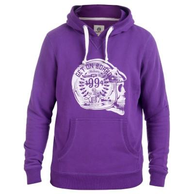 Men's Purple Jagger Hoody