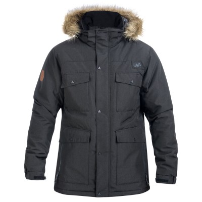 Mens Black Varda Snow Jacket