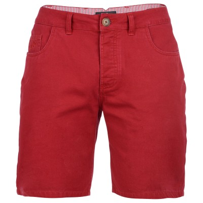 Mens Tamar Chino Shorts - Red