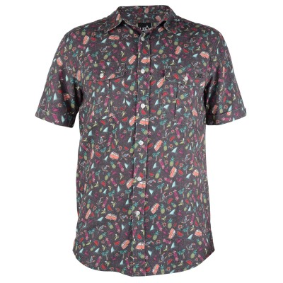 Mens Kili Short Sleeved Surf Shirt