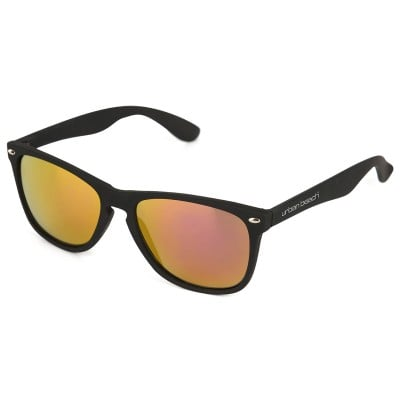 Unisex Zeus Black Sunglasses