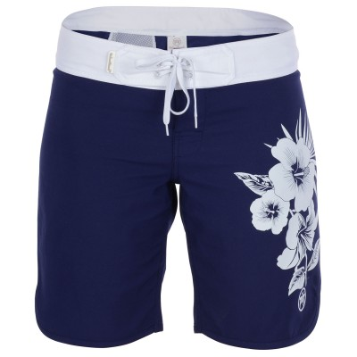 Womens Widemouth Board Shorts - Navy
