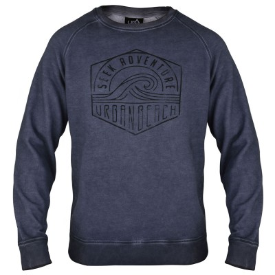 Mens Ewa Beach Sweatshirt - Grey
