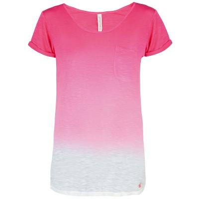 Womens Eleele T-Shirt - Fuchsia