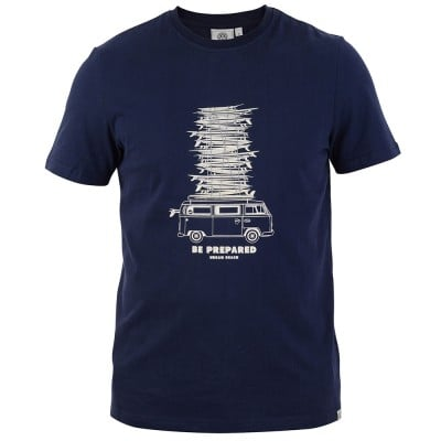 Mens Quill T-Shirt - Navy