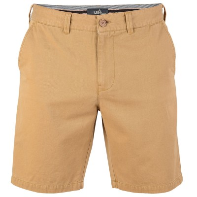 Mens Pepper Shorts - Stone