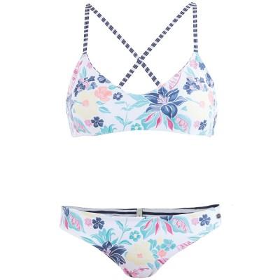Womens Glaze Reversible Bikini - White