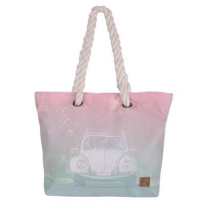 Womens Kalina Beach Bag - Pink
