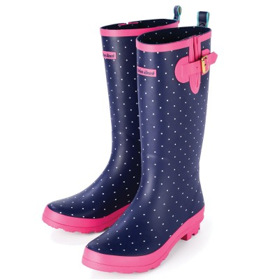 Womens Carnaby Dotty Festival Wellies