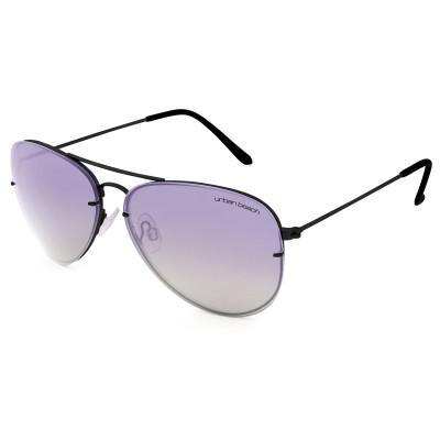Sunset Aviator Sunglasses Black