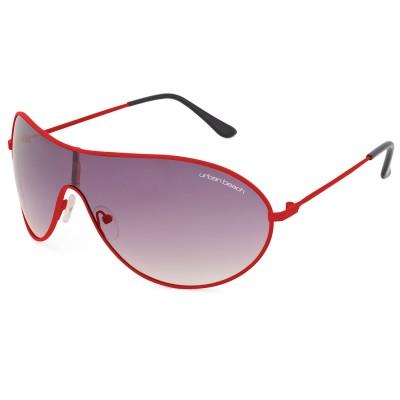 Visor Sunglasses Red