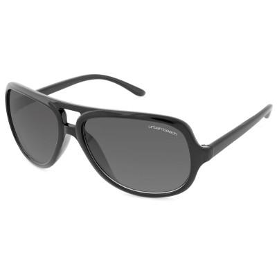 Womens Round Frame Sunglasses Black
