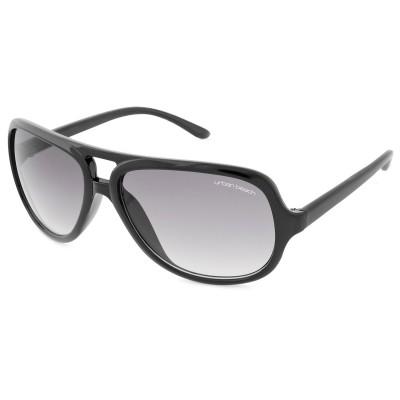 Womens Round Frame Sunglasses Slate