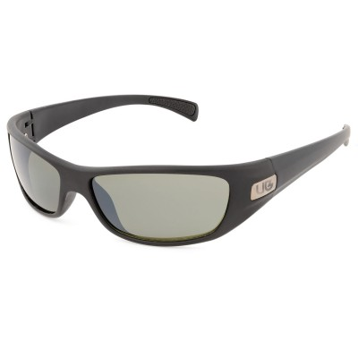Mens Wrap Wraparound Sunglasses Black