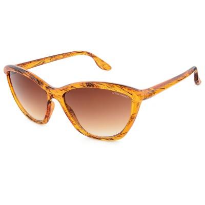Women's Brown Miss Kyle Retro Cat Eye Sunglasses