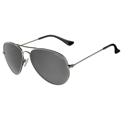 Mens Titanium Hunter Aviator Sunglasses