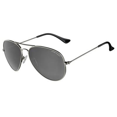 Mens Titanium Hunter Aviator Sunglasses