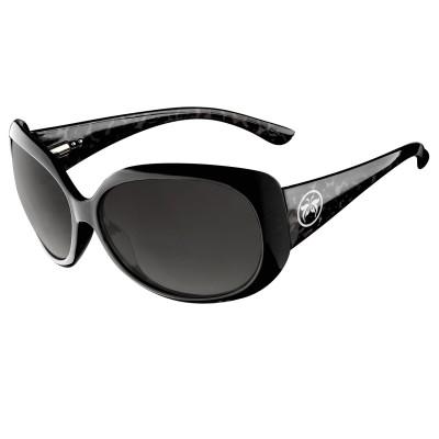 Womens Black Felis Cat Eye Sunglasses