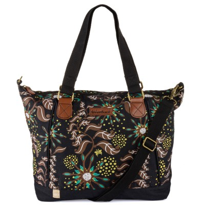 Womens Gaia Shoulder Bag Brown