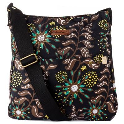 Womens Gaia Light Shoulder Bag Brown