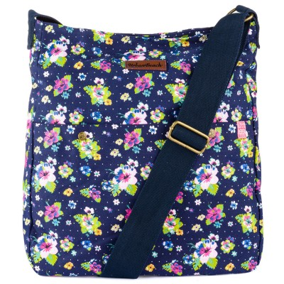 Womens Bloom Light Shoulder Bag Dark Blue