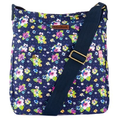 Womens Bloom Light Shoulder Bag Dark Blue