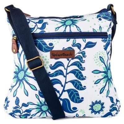 Womens Sundial Pouch Bag White