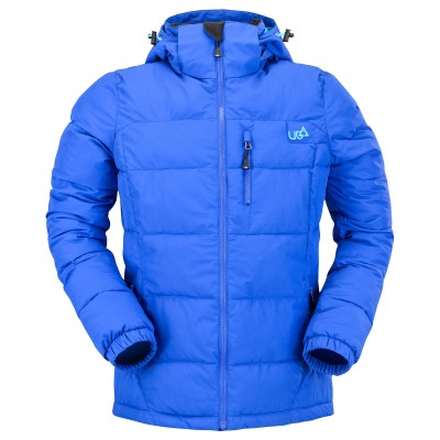 Womens Ultramarine Blue Puffa Jacket